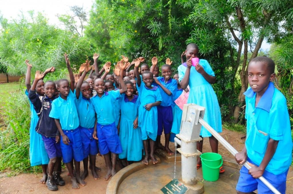 Drop In the Bucket - Apopong Primary School - William B Travis well photo