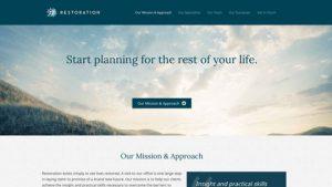Restoration Counseling Website